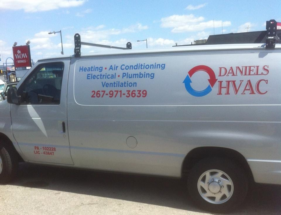 Van - Heater repair philadelphia Air Condition service philadelphia, plumber service philadelphia, water heater philadelphia