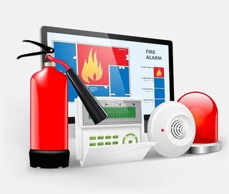 carbon monoxide detector fire alarm