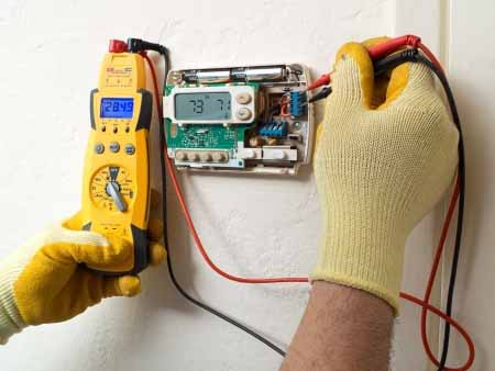 thermostat inspection and repair or installation