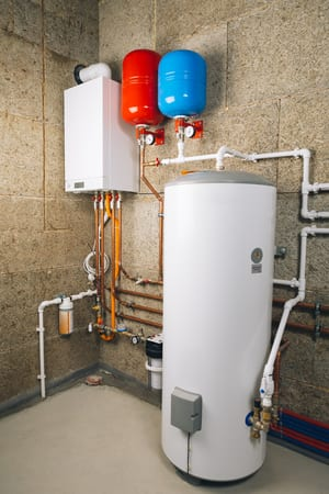 picture of water heater installation, water heater repair philadelphia