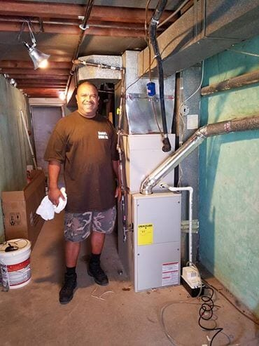 picture of mr daniels of Daniels HVAC philadelphia