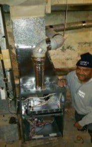 picture of man, furnace repair philadelphia